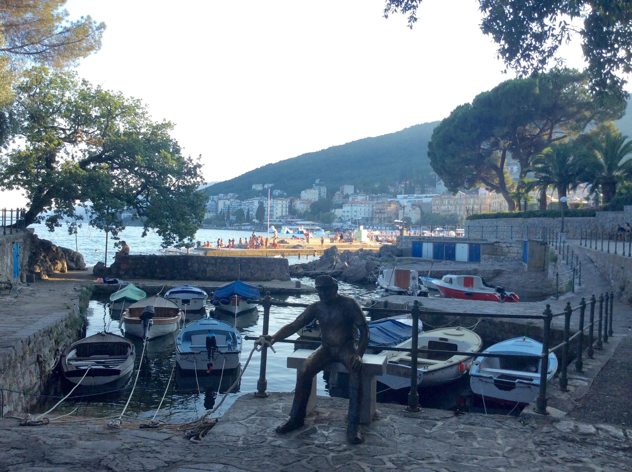 Opatija-fisherman-statue