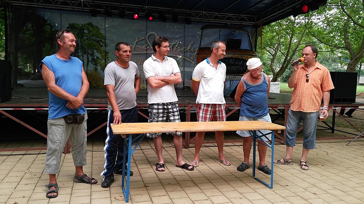 Katona Csaba megversenyezteti a sörívókat