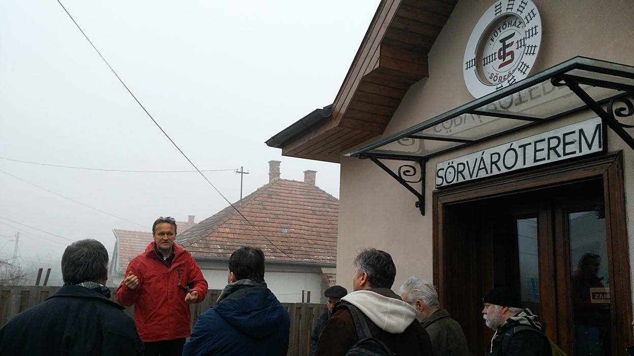 Hava István bemutatkozik a Fűtőház Sörfőzde részéről
