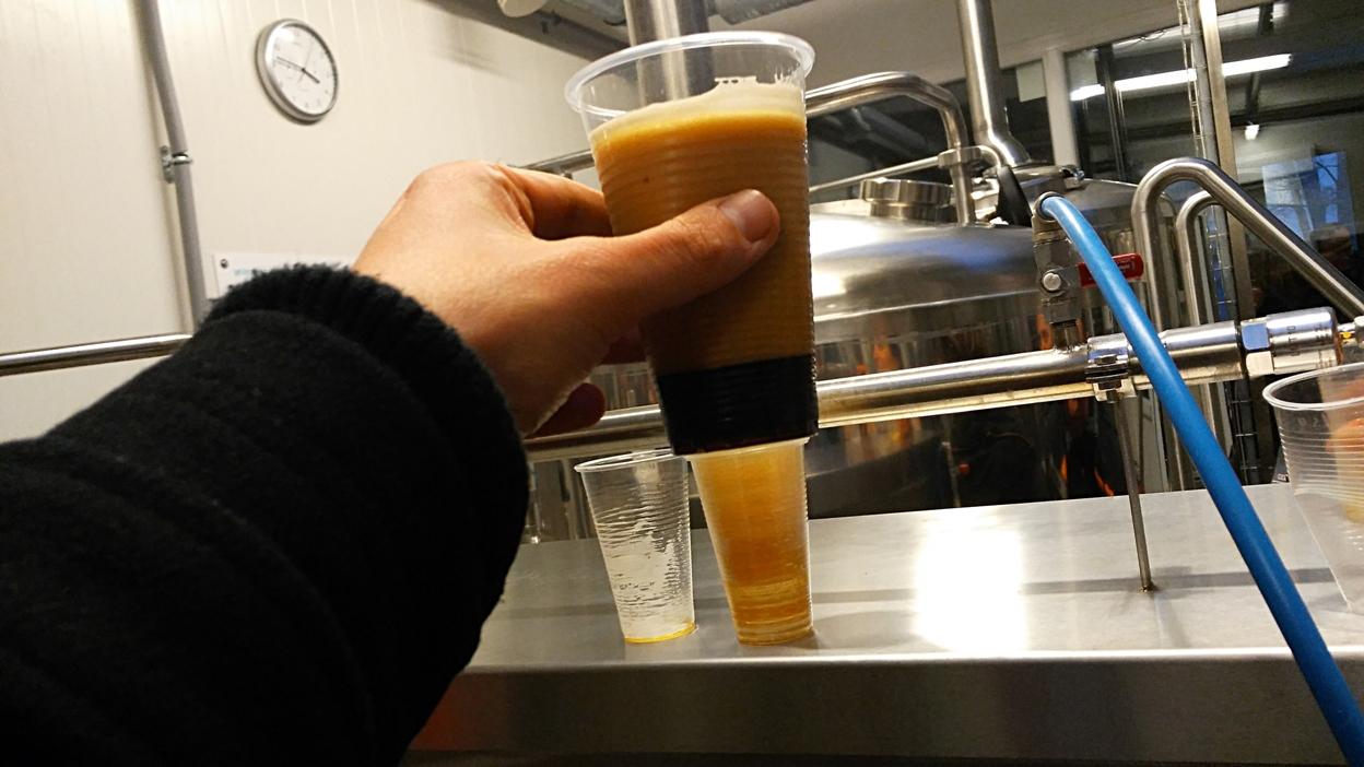 A sörhabja a Fűtőház Sörfőzde szerint