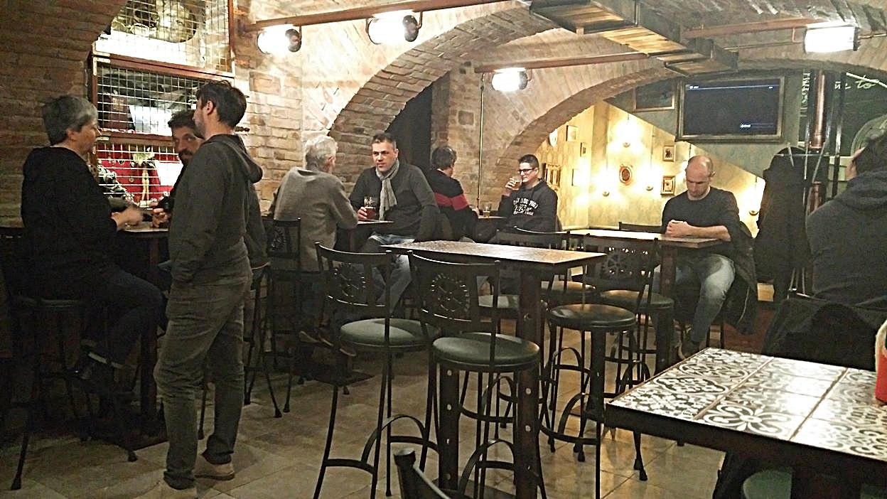 A nem rég nyílt új szint, a Krak'n Town Underground - Kocsmaturista