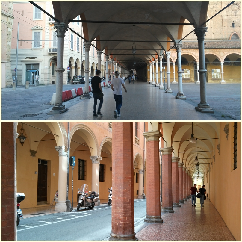Bologna árkádjai - Kocsmaturista