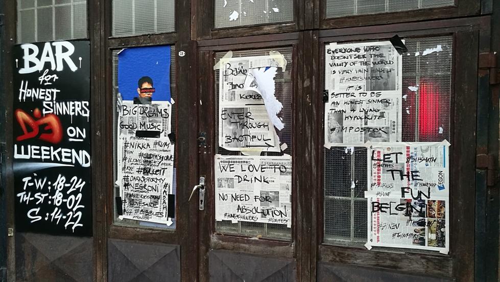 Kocsmaturista - Impostor bejárat közelről