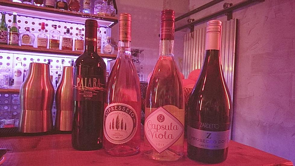 Olasz borkóstoló az Impostorban