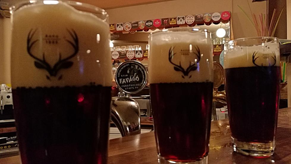 A Beer Companynál Szarvasi Komlós IPA bemutató