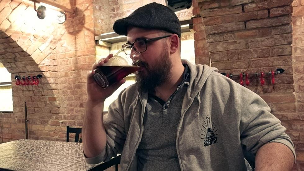 Szilágyi Tamás a Mad Scientist-től Krak'n Town-ban, Budapest - Kocsmaturista