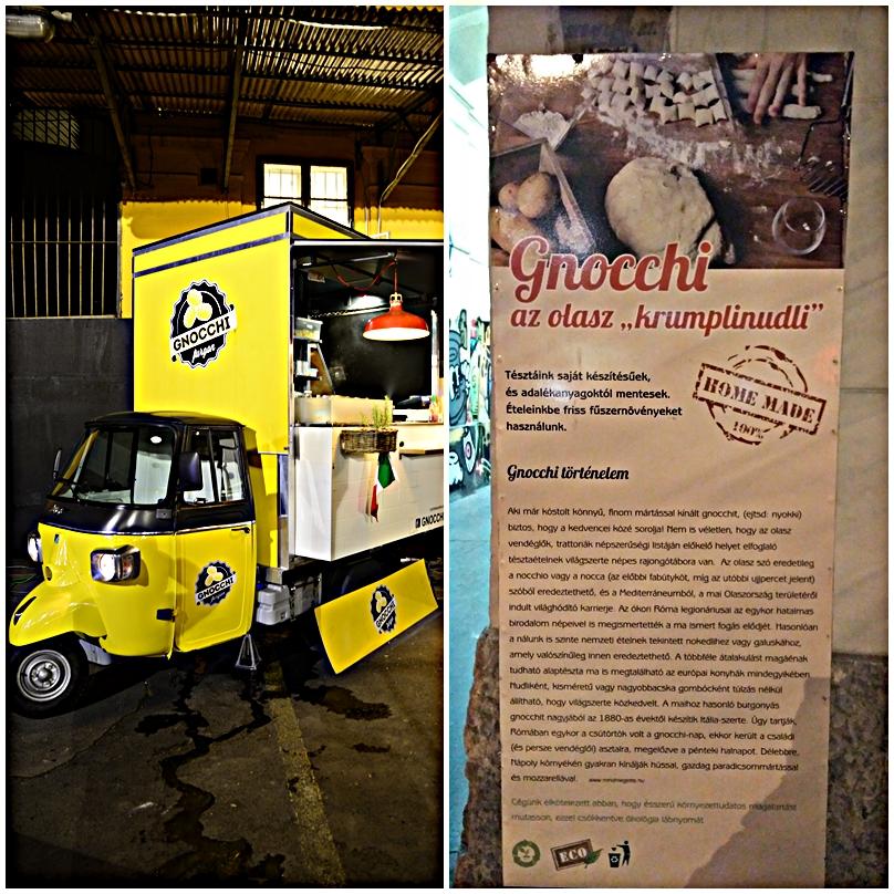 A Gnoochi Furgon és a történelem oktatása a Food Truck Udvarban, Budapesten - Kocsmaturista