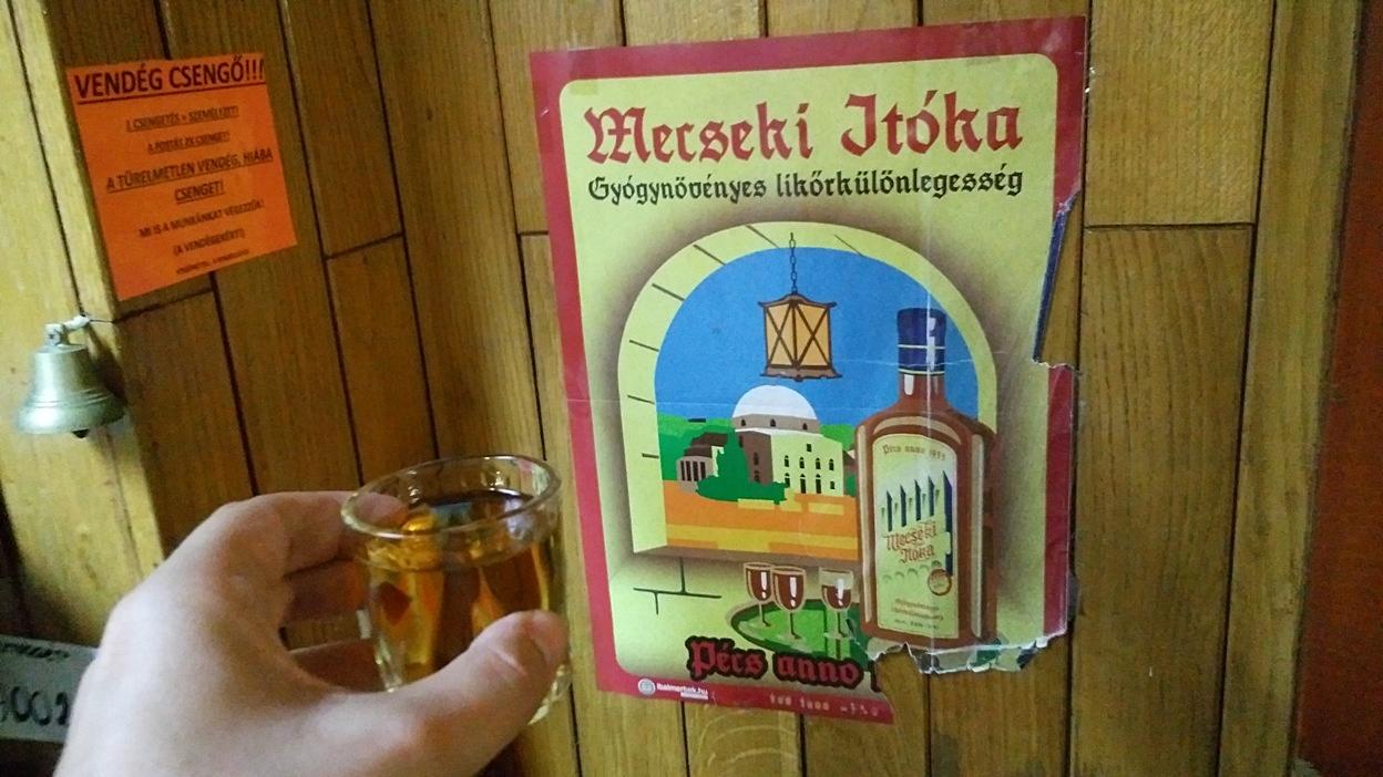 A Mecseki Itóka az István Pincében Pécsen