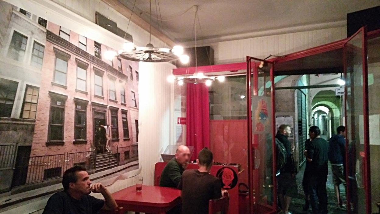 Az Al Busciaglione belső hangulata Padovában - Kocsmaturista