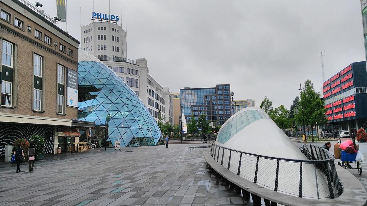 Eindhoven futurisztikus arca - Kocsmaturista