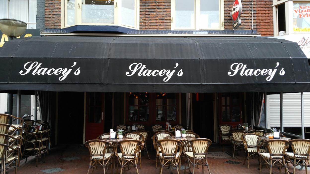 A Stacey's bejárata Eindhovenben