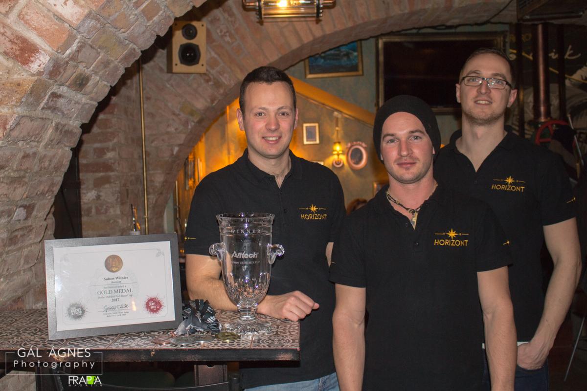 A nagydíjas Horizont Sörök - Kocsmaturista - Dublin Craft Beer Cup dijátadó, Krak'n Town