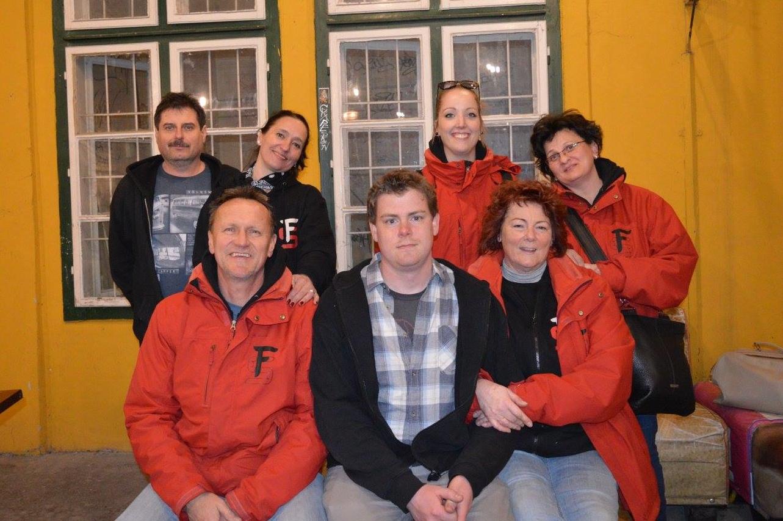 A Fűtőház Sörfőzde csapata - Kocsmaturista