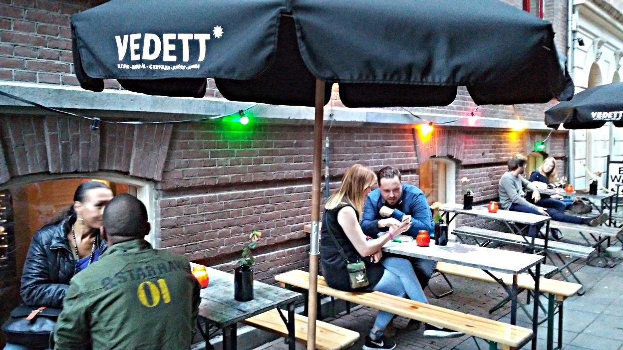 A Wunderbar terasza Amszterdamban - Kocsmaturista