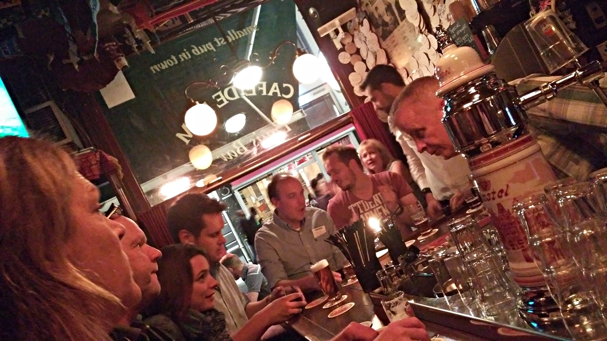 Café De Dam - Louis Bar, Amszterdam - Kocsmaturista