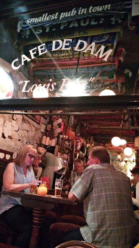 A Café de Dam vendégei Amerikából - Kocsmaturista