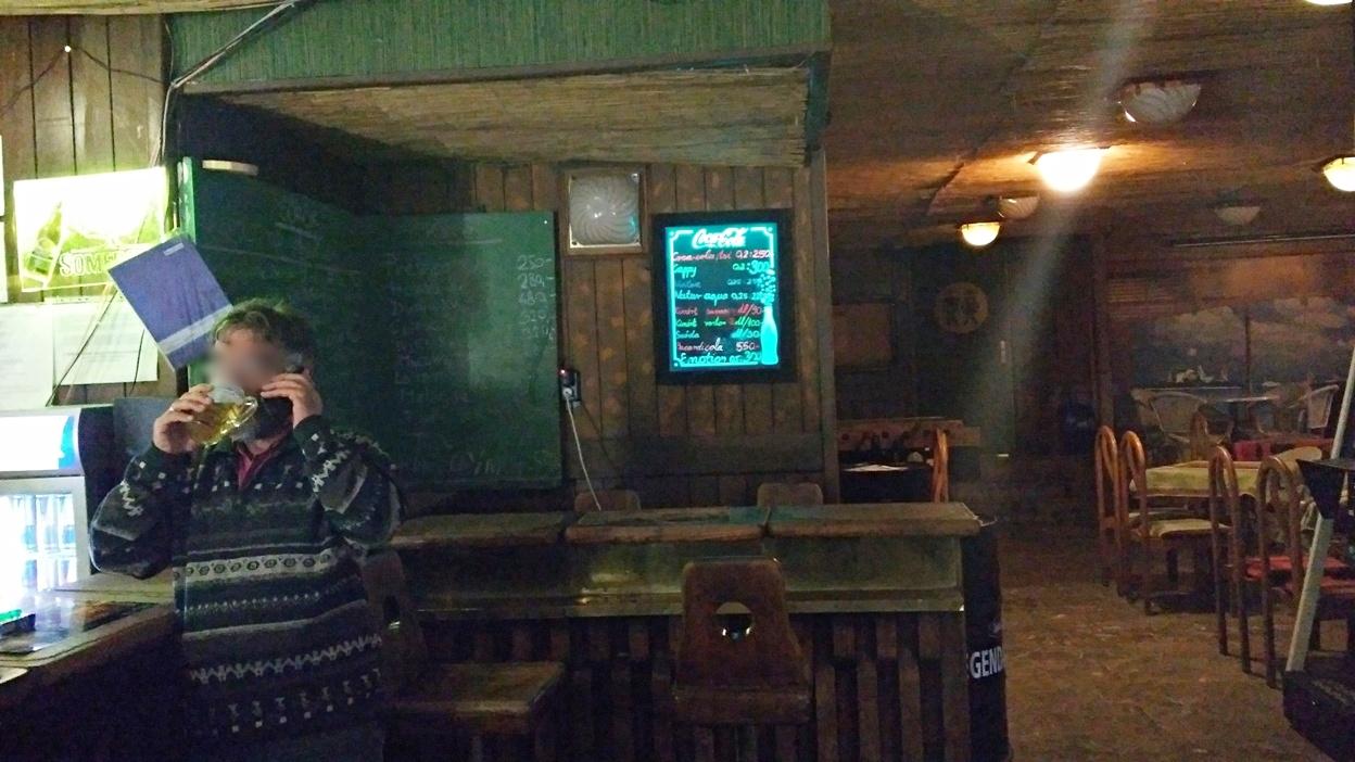 Kocsmaturista - Az elképzelt fa DJ pult a Csalogány presszóban