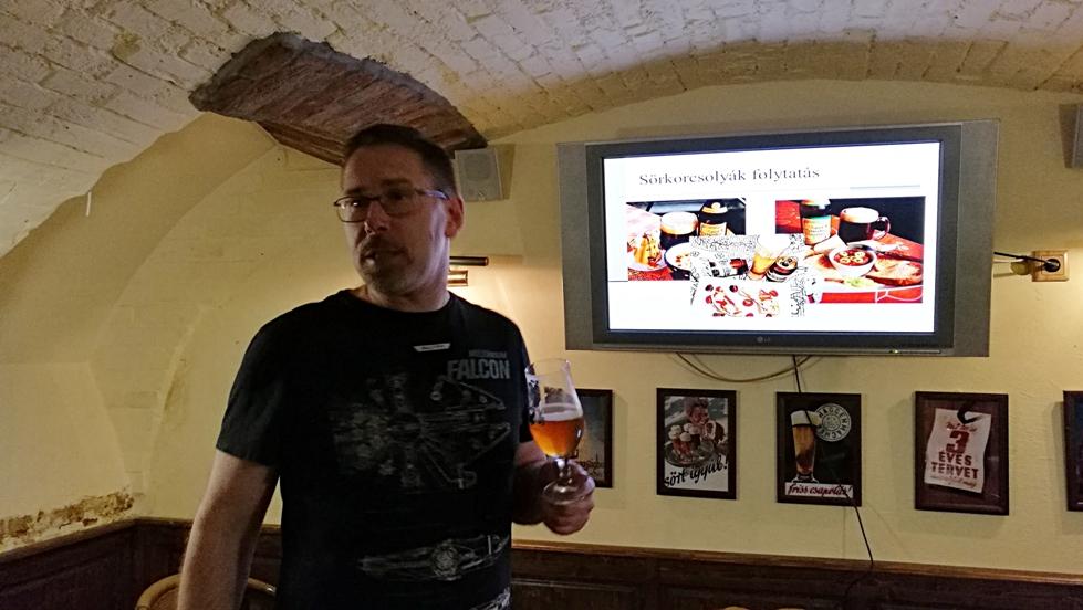 Sör, trend, gasztronómia előadás Pif által az Ogre bácsiban - Kocsmaturista