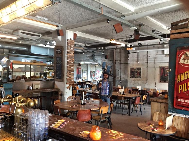 Reggei sör a Van Mechelenben, Amszterdam - Kocsmaturista