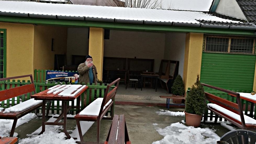 A Vadászkürt kerthelyisége, Debrecen - Kocsmaturista