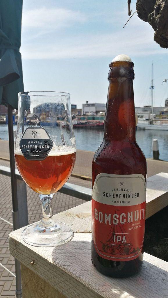 Scheveningeni sör a hágai kikötőben - Kocsmaturista