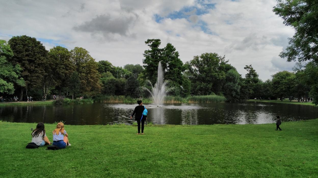Vondelpark, Amszterdam - Kocsmaturista