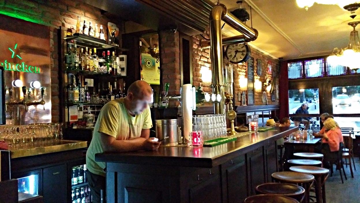 A Café Berkhout belső tere - Kocsmaturista