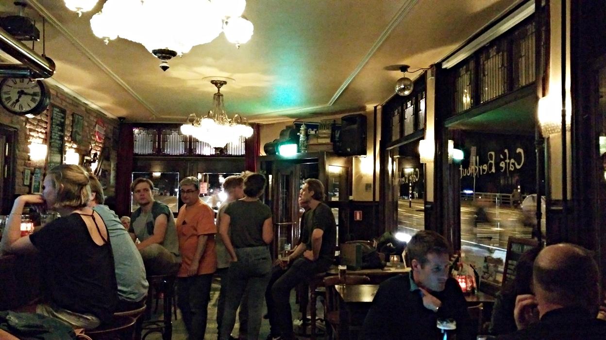 Café Berkhout Amszterdamban - Kocsmaturista