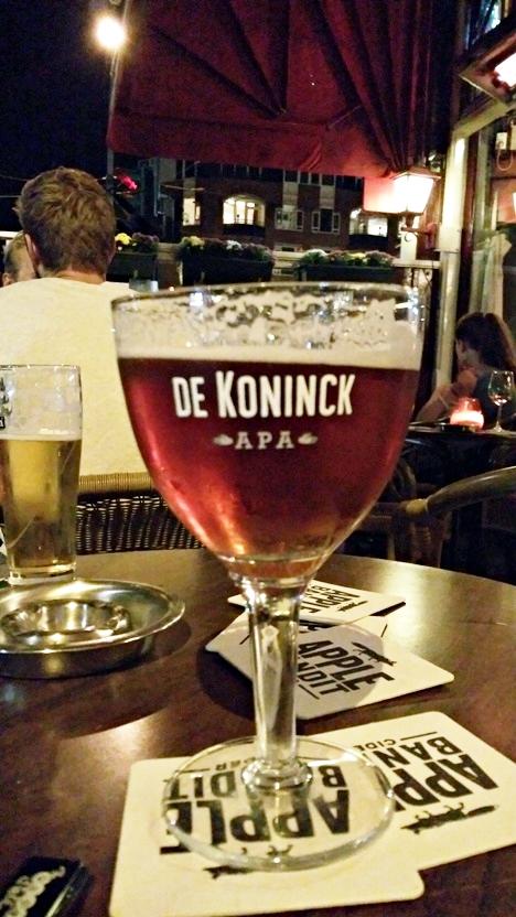 De Koninck APA a Café Mulderben Amszterdamban - Kocsmaturista