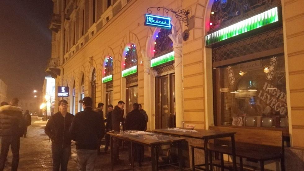 A Simonffy utca éjjel Debrecenben - Kocsmaturista