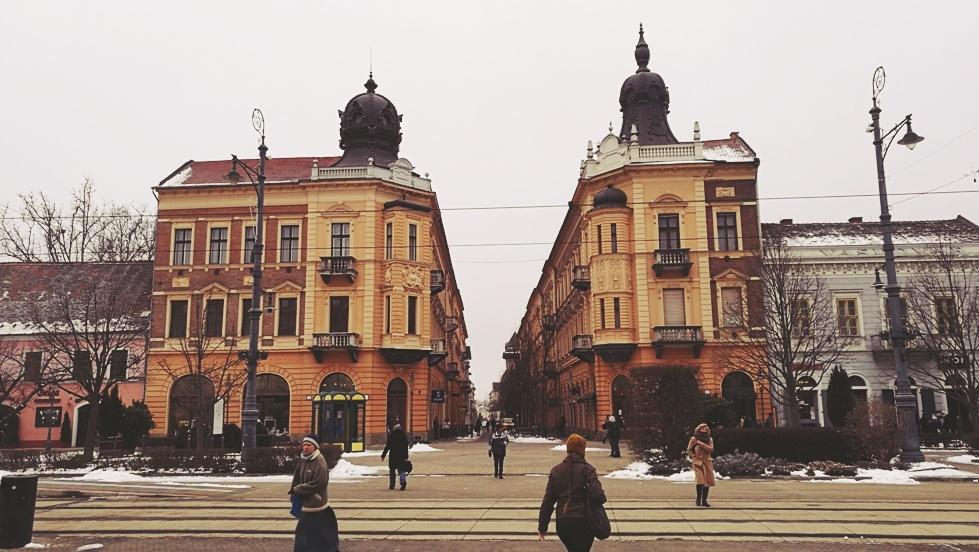 A Simonffy utca Debrecenben - Kocsmaturista