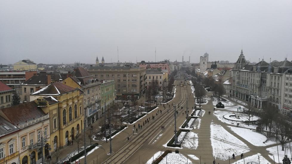Debrecen fentről - Kocsmaturista