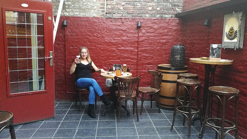A Café in de Krakol terasza Maastrichtban - Kocsmaturista