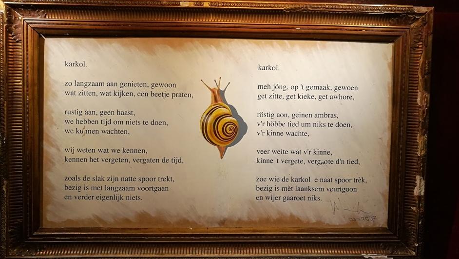 Vers a csigáról Maastrichtban, a Café in de Karkol-ban - Kocsmaturista