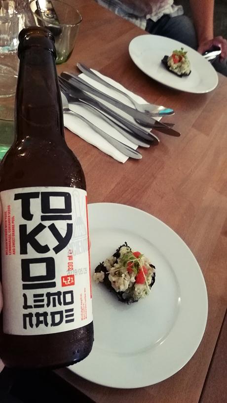 A Tokyo Lemonade pisztrángtartárral a Lexo Bistróban - Kocsmaturista