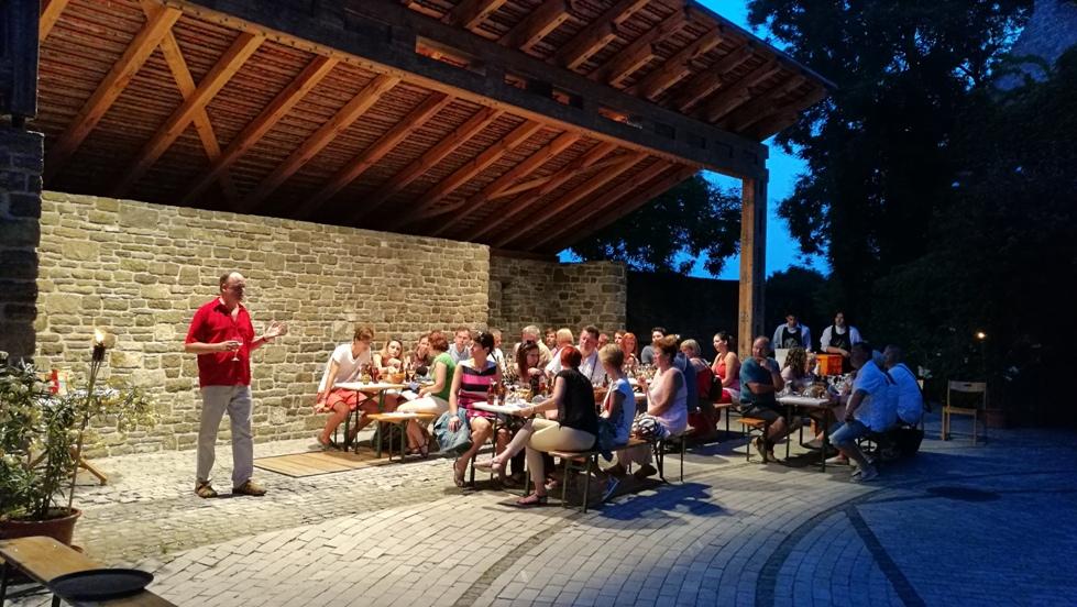 A muzeumok ejszakaja Tihanyban, Katona Csaba előadása a Tichon sörről
