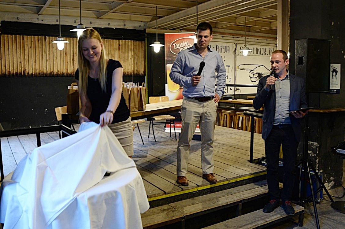 A Stari sörök új címkéi leleplezés előtt az Élesztőben - Kocsmaturista