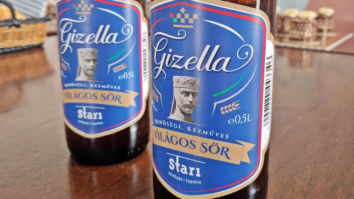 Gizella, Veszprém város söre a Staritól