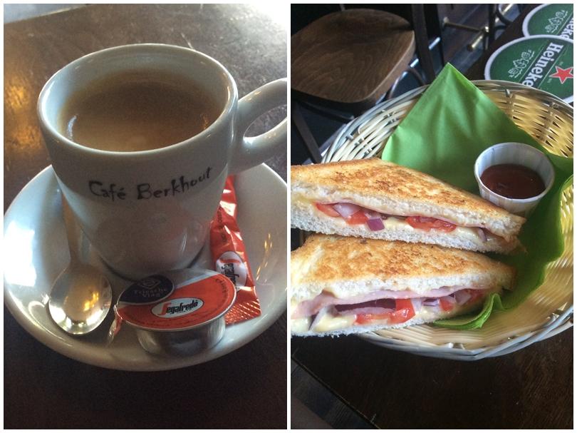 Kocsmaturista - Café Berkhout kávéja és szendvicse