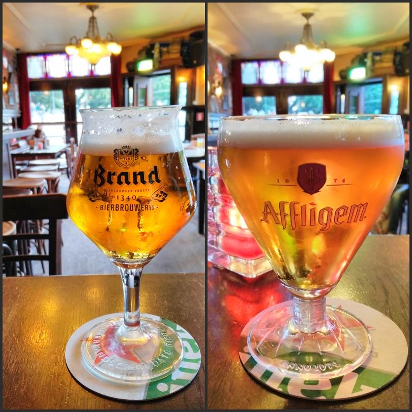 Brand sör és Affligem a Café Berkhoutban, Amszterdamban - Kocsmaturista