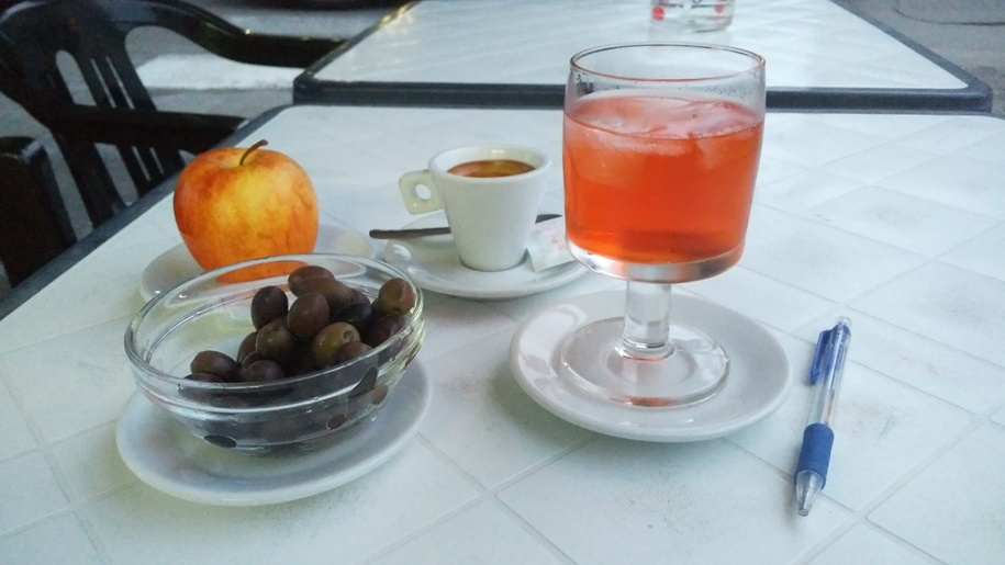 Puglia kocsmái - Bar Mirea, Lecce - Kocsmaturista
