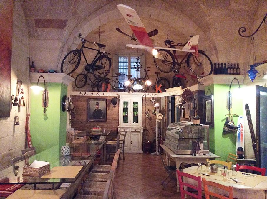 A Dall antiquario Lecceben - Kocsmaturista