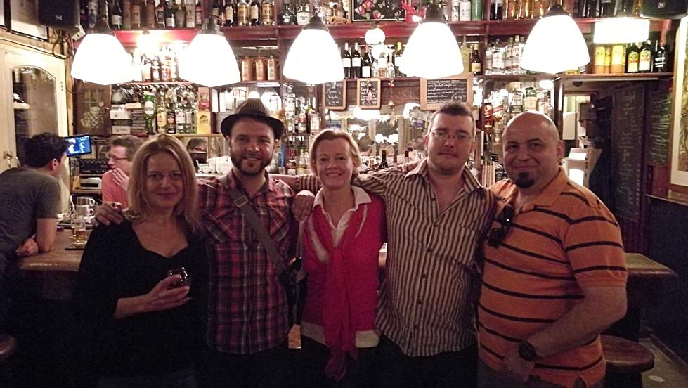 A Cafe De Pieter csapat - Maastricht - Kocsmaturista