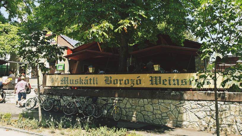 A Hatlépcsős Balatonfüreden kívülről - Kocsmaturista