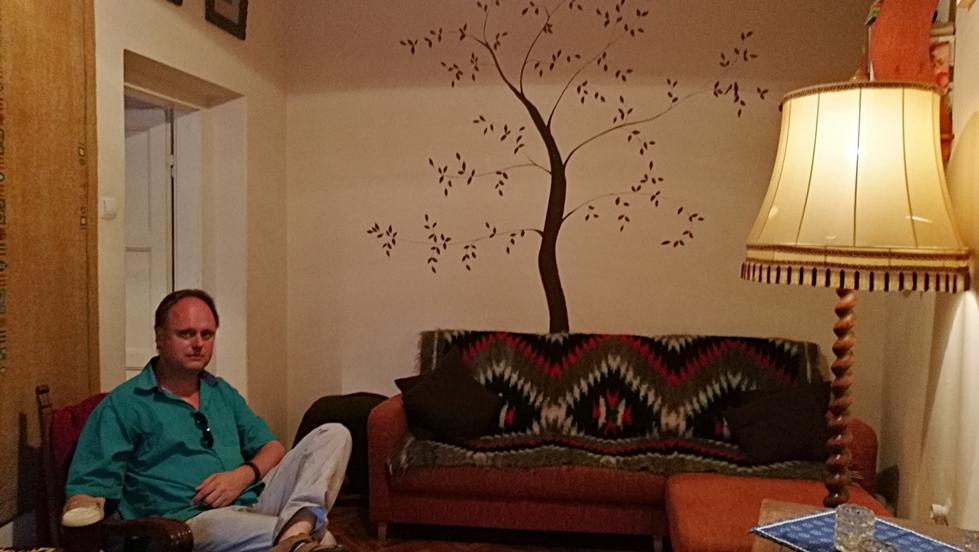 A belső szoba a Hunyadi lakásbisztróban - Kocsmaturista