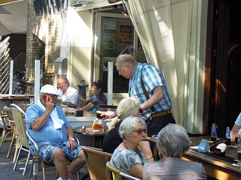 Marcel a Muziek Café de Tapperijben, Heerlen, Hollandia - Kocsmaturista