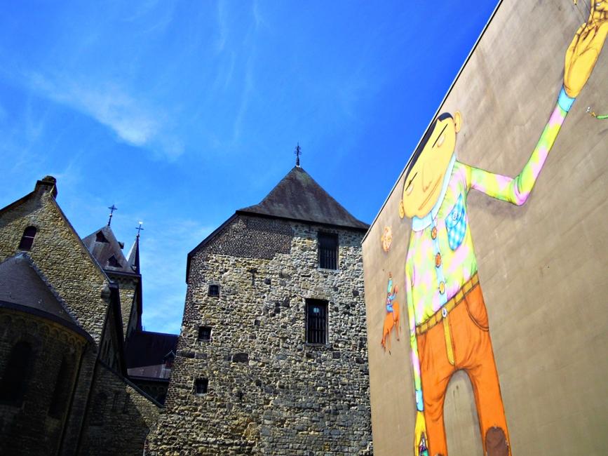 Heerleni falfestmény - Kocsmaturista
