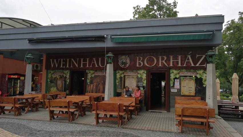 Balatonfüred kocsmái - König borház másik oldala - Kocsmaturista