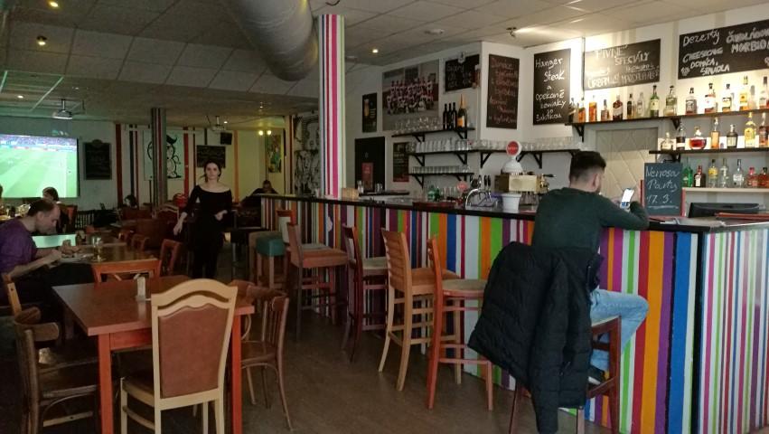 Pozsonyi kocsmák - Café Nervosa színvilága - Kocsmaturista
