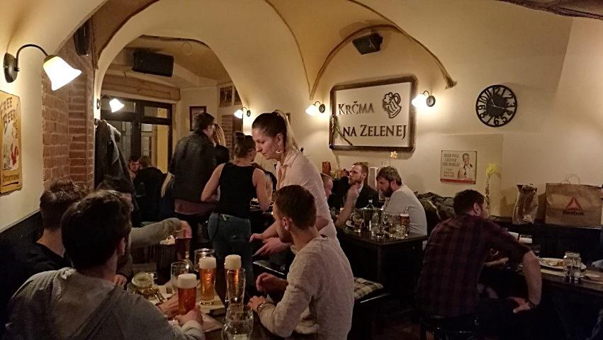 Pozsonyi kocsmák - a belső tér - Kocsmaturista